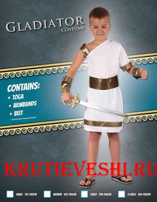 Греческий костюм для мальчика своими руками из простыни
